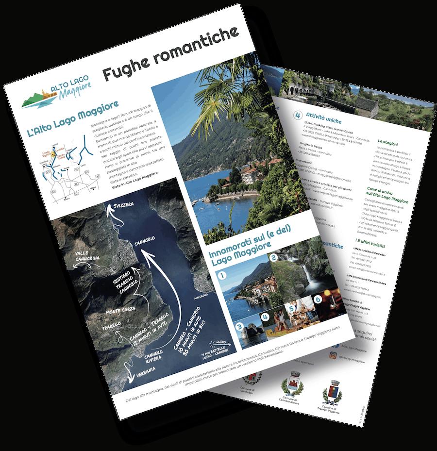 Mini guida Fughe Romantiche - Alto Lago Maggiore