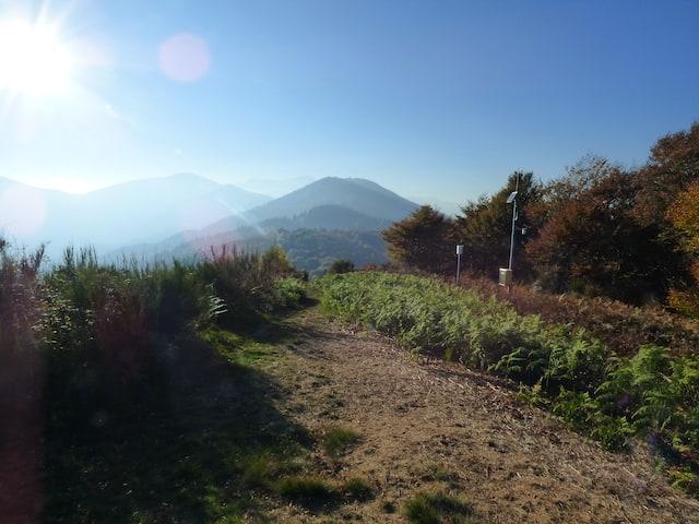 Da Monte Carza in direzione Cima Ologno